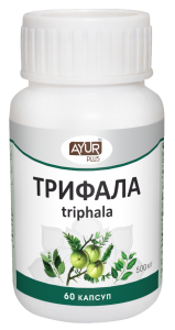 Ayur Plus Triphala Трифала 60 кап