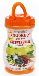 Patanjali Chyawanprash Чаванпраш Патанджали с Шафраном 500 гр.