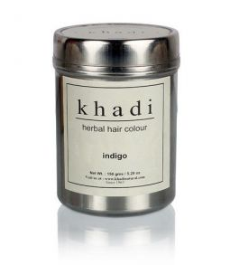 Краска для волос Khadi - Herbal Indigo Hair Color - 150g