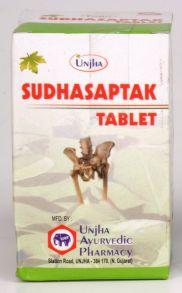 Sudhasaptak Unjha Tablet, Дефицит кальция,100 таб