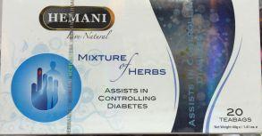 Чай от диабета HEMANI,20 пак*2 гр