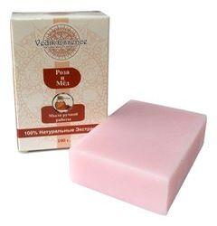 Натуральное мыло для тела Роза и Мед ,100 гр