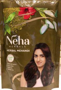 Хна для волос Neha натуральная витаминизированная 140 гр