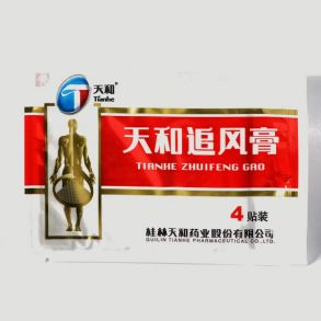 Пластырь обезболивающий Тяньхэ Чжуйфэн Гао 4шт.